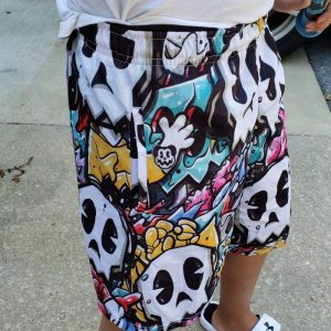 Ryan the Foe Skull Shorts